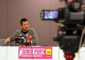 Roda de premsa CUP Diputació transparència